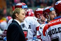 NÁVRAT. Trenér Tomáš Martinec se vrátil do extraligy jako hlavní kouč hokejistů Hradce Králové.