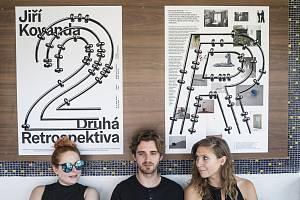 V Barchově se konala první výstava v prostoru zastávky.