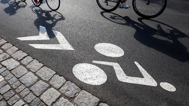 Cyklistické městské kritérium Elkov Velká cena Hradce Králové.
