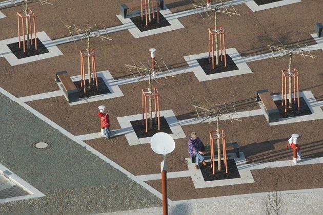 Riegerovo náměstí v Hradci Králové
