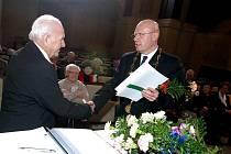 Ocenění těch, kteří v únoru dosáhnou 80 let, v pondělí 22. února v Městské hudební síni.