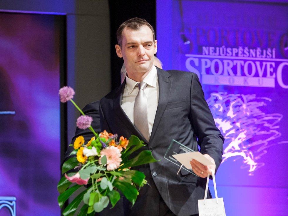 Nejúspěšnější sportovec roku 2014 města Hradec Králové - z vyhlášení výsledků ankety.