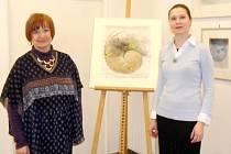 Ze zahájení výstavy Pavla Sukdoláka v královéhradecké galerii Koruna.