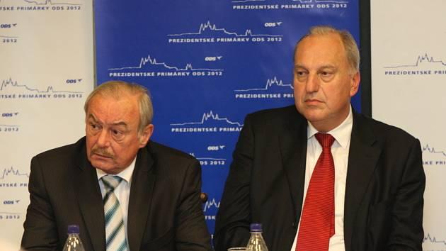 Přemysl Sobotka a Evžen Tošenovský.