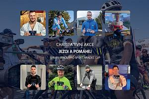 AMBASADOŘI. Cyklistickou charitativní akci Jezdi a pomáhej podporuje spousta známých sportovců.