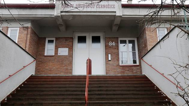 Domov důchodců Černožice.