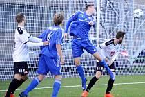 Juniorská liga ve fotbale: FC Hradec Králové - FK Fotbal Třinec.