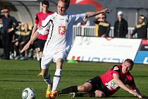 Fotbalová I. Gambrinus liga: FC Hradec Králové - FK Mladá Boleslav.