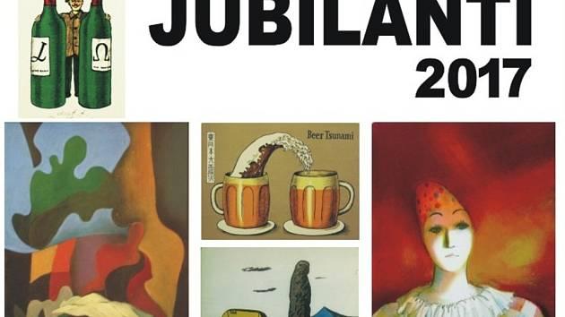 Pozvánka na výstavu Jubilanti 2017.