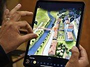 Návštěvníci Kuksu mohou díky unikátní mobilní aplikaci cestovat časem.