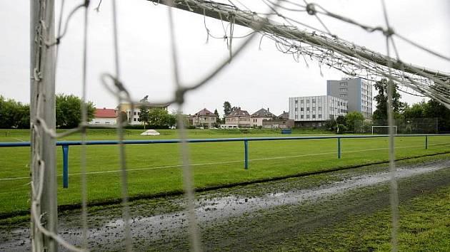 Sportovní hřiště u Bavlny - ilustrační foto.