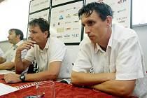 Fotbalový klub FC Hradec Králové uspořádal 30. července tiskovou konferenci.