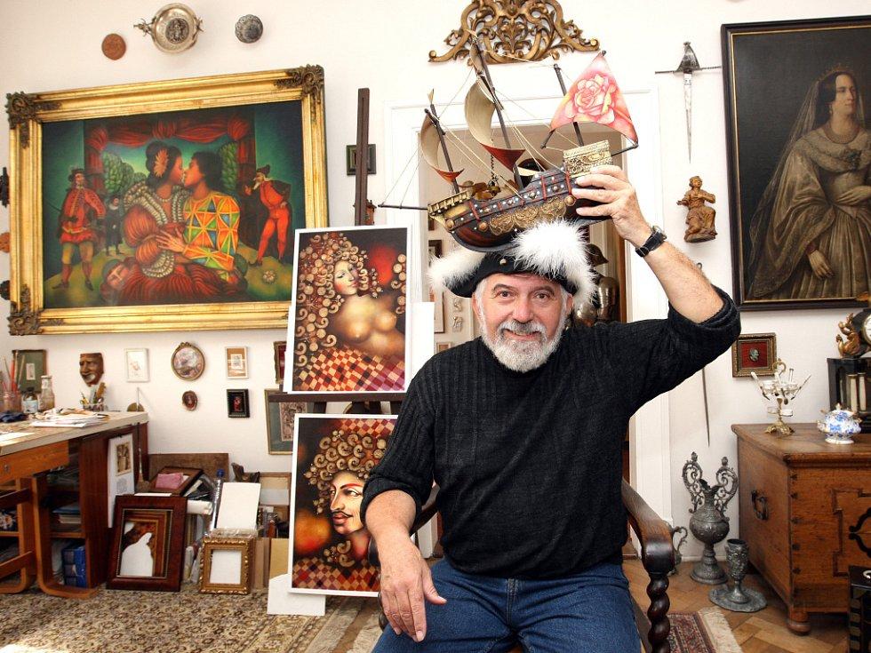 Renesanční rarach, hradecký malíř Jiří Vavřina