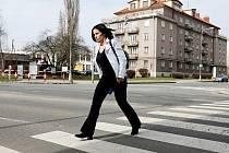 Nebezpečná místa v dopravě: přechod pro chodce.