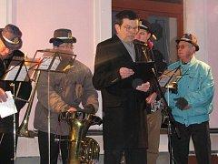 Třebechovičtí trubači vítali nový rok