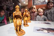 Třebechovické muzeum betlémů a výstavy ústeckoorlických betlémů i těch vyřezávaných ze dřeva.