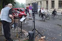 Akce Město na kolech v Hradci Králové