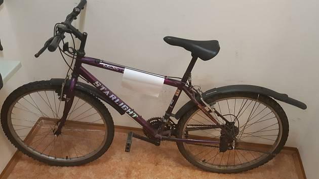 Policie hledá majitele jízdního kola