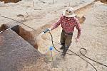 Archeologové zkoumali pozemky v Sendražicích.
