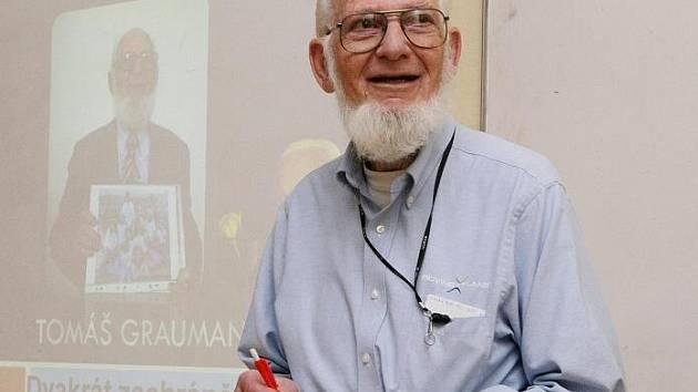 Tomáš Graumann byl jedním ze 669 židovských dětí, které před téměř jistou smrtí zachránil Brit Nicholas Winton.