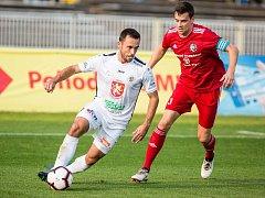 Fotbalová FORTUNA:NÁRODNÍ LIGA: FC Hradec Králové - FK Fotbal Třinec.