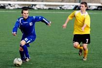 Krajský přebor ve fotbale: SK Libčany - Slovan Broumov.