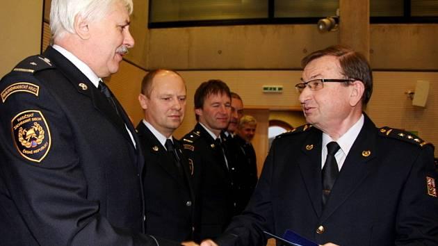 Slavnostní zahájení roku u HZS Královéhradeckého kraje.