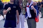 David Dvořák v přípravě na třetí zápas v UFC