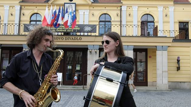 Z mezinárodního festivalu Divadlo evropských regionů v Hradci Králové.