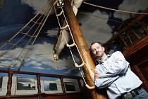 Patrik Lamka, majitel hospody Bar No.1, která nabízí více jak sto padesát druhů rumu.