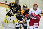 Tipsport Extraliga ledního hokeje: Mountfield HK - HC Verva Litvínov.