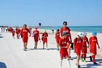 Letní kemp pro mladé fotbalisty v Itálii.