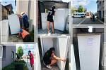 První veřejná lednice