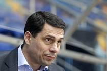 Generální manažer hokejového klubu Mountfield HK Aleš Kmoníček.
