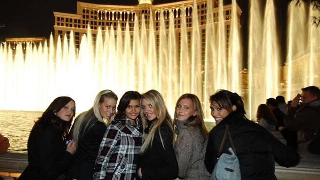 Finalistky Miss ČR v Las Vegas