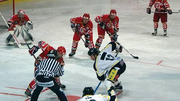 Předkolo play off 1. ligy: Kadaň - Hradec Králové (5. února 2009)