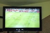 Fandění 'Čecho-Mexičan' v hradecké Haciendě při fotbalovém mistrovství světa.