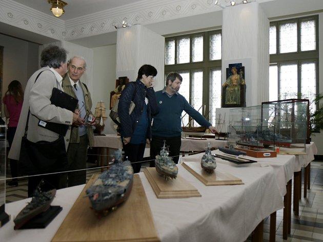 Mistrovství České republiky lodních modelářů v Muzeu východních Čech v Hradci Králové.