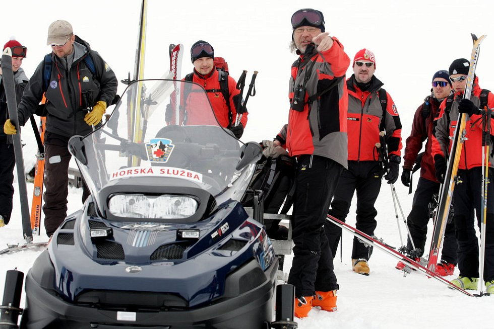 Horští záchranáři v Beskydech hledali polského turistu.