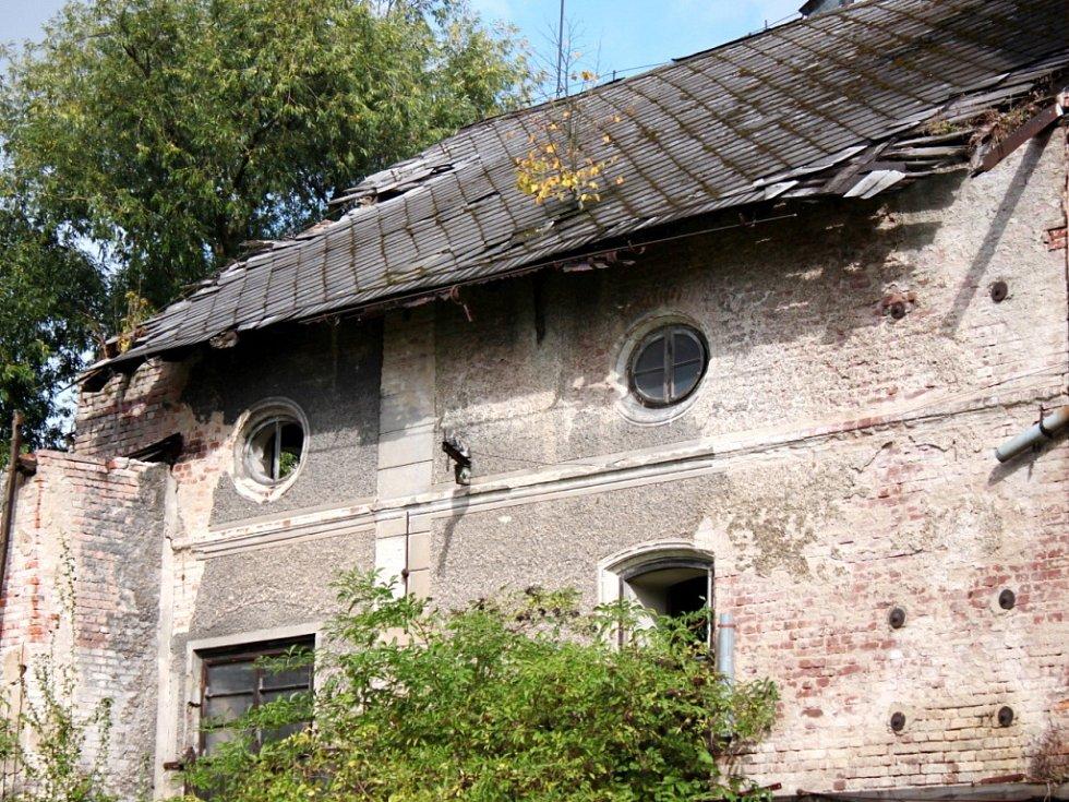 Hajnišův mlýn v Třebechovicích pod Orebem.