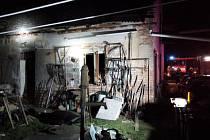 Při požáru rodinného domu zemřel bohužel člověk