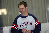 Trenér Martin Hosták.