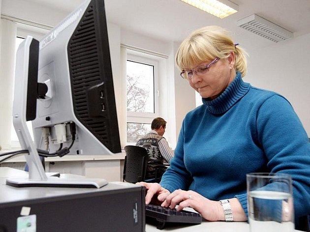 Spisovatelka Stanislava Nopová při on-line rozhovoru 22. prosince 2010.