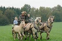 ČERNŮTKY. Už potřetí pořádal Klub přátel koní a turistiky Hubertovu jízdu
