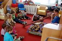 Dětský denní rehabilitační stacionář - aktivity v roce 2013: muzikohraní.