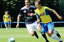 Juniorská liga ve fotbale: FK Teplice - FC Hradec Králové.