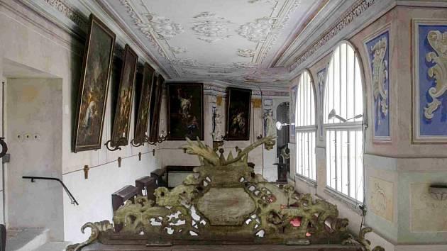 Kapucínský klášter v Opočně.