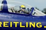 Breitling Jet Team, letoun L-39. International Flying Display v Hradci Králové