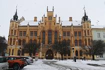 Radnice v Novém Bydžově.