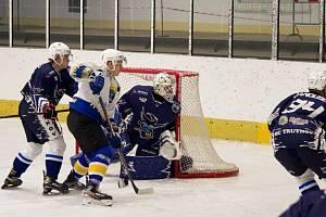 Šlágrem 4. kola krajské ligy byl jednoznačně duel na ledě Nového Města nad Metují.